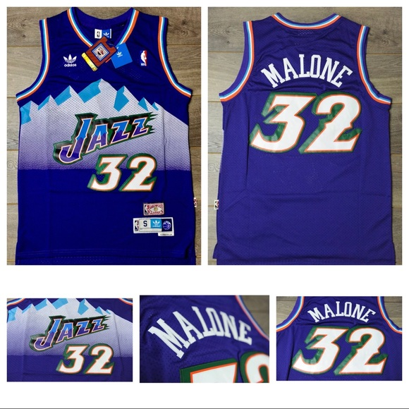 33ecdac7 adidas Shirts | Karl Malone 32 Utah Jazz Jersey Swingman Retro ...